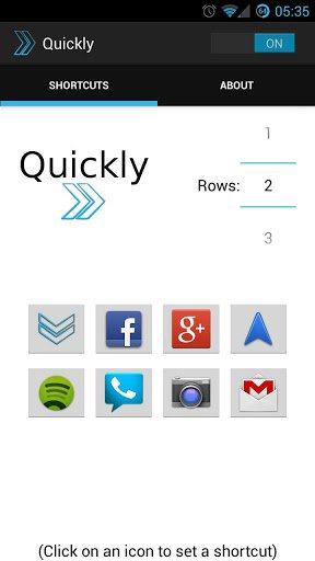 Quickly Notification Shortcuts v2.1.0.1