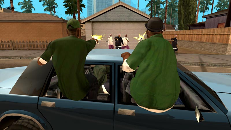 Grand Theft Auto: San Andreas v1.07 + мод много денег