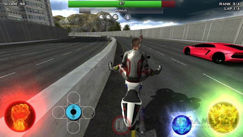 Race Stunt Fight 3! v1.11 [Full]