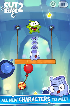 Cut the Rope 2 v1.3.0+ mod v 1.2.9