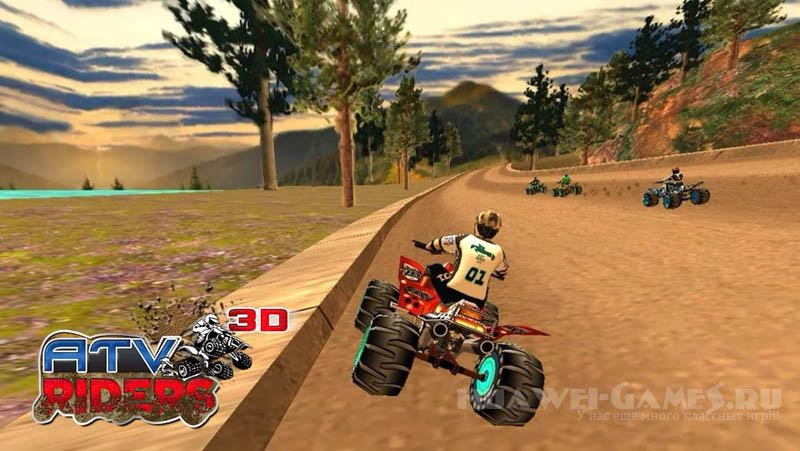ATV Riders 3D ( Racing Game ) v1.0