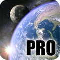 Earth & Moon in HD Gyro 3D PRO v1.0.4 (amazon)